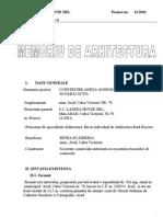 memoriu arhitectura propus