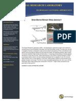 Stop-Rotor Rotary Wing Aircraft