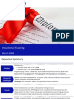 Market Research India - Vocational Training Market in India 2009