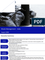 Market Research India - Waste Management Market in India 2009