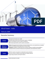 Market Research India - Wind Power Market in India 2009