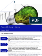 Market Research Norway - Renewable Energy Market in Norway 2009