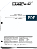 Ml003740384 Regulatory Guide 1. 09calculation of Annual Doses to Man- From Routinereleases of Reactor Effluents for the Purpose of Evaluating Compliance With10 Cfr Part 50, Appendix i