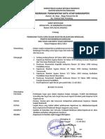 SK Pembagian Tugas Tahun Pelajaran 2012-2013