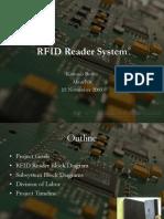 RFID Project Design Presentation