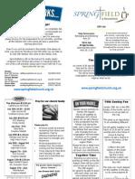 Roundshaw News Sheet 15th July 2012