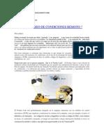 7.- Monitoreo de Condiciones Remoto