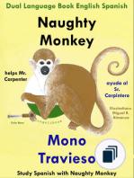 Study Spanish with Naughty Monkey