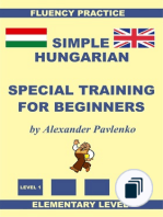 Simple Hungarian (with English translation alongside)