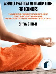 read simple yoga meditation techniques for beginners