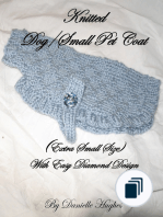 Adventures in Extreme Needlework ~ Knitted Pet/Dog Coats