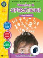 Principles & Standards of Math Series - Tasks Grades 6-8