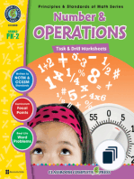 Principles & Standards of Math Series - Task & Drills Grades PK-2
