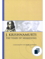 A Biography of J Krishnamurti
