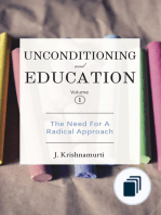 Unconditioning and Education