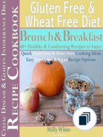 Wheat Free Gluten Free Diet Recipes for Celiac / Coeliac Disease & Gluten Intolerance Cook Books