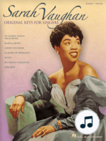 Sarah Vaughan - Original Keys for Singers