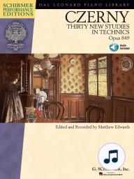Carl Czerny - Thirty New Studies in Technics, Op. 849