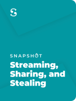 Streaming, Sharing, and Stealing: Big Data and the Future of Entertainment