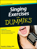 Singing Exercises For Dummies
