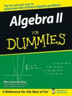 Algebra II For Dummies