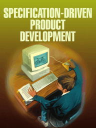 Specification-Driven Product Development