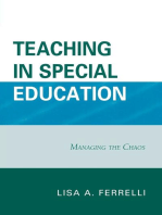 Teaching in Special Education