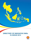 Directory of Innovative SMEs in ASEAN 2012 Free download PDF and Read online