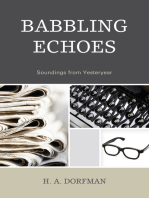 Babbling Echoes