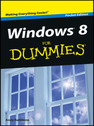 Windows 8 For Dummies, Pocket Edition