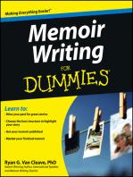 Memoir Writing For Dummies