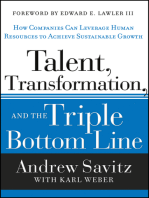 Talent, Transformation, and the Triple Bottom Line