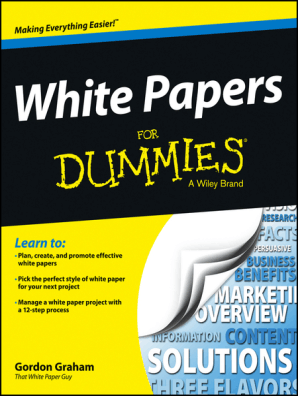 White Papers For Dummies By Gordon Graham Book Read Online