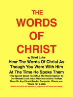 THE WORDS OF CHRIST By St Luke