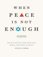 When Peace Is Not Enough