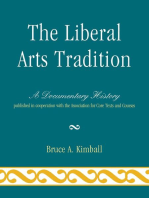 The Liberal Arts Tradition: A Documentary History