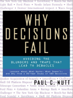 Why Decisions Fail: Avoiding the Blunders and Traps That Lead to Debacles
