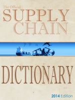 The Official Supply Chain Dictionary: 8000 Researched Definitions for Industry Best-Practice Globally