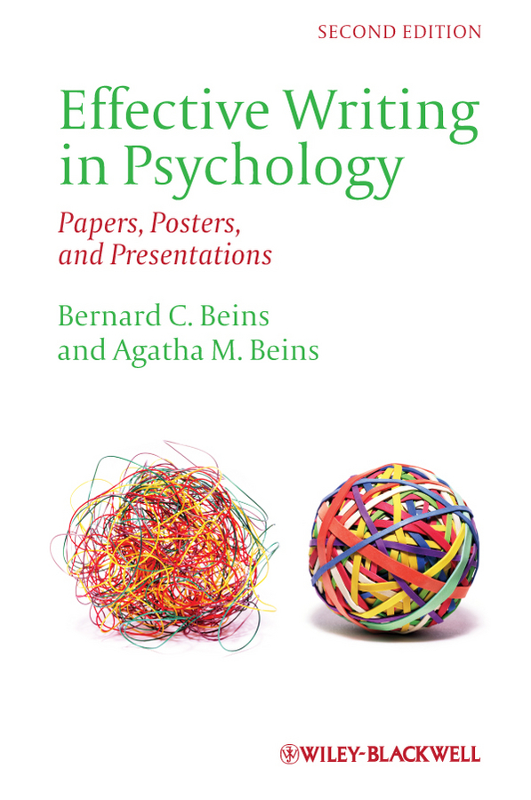 Posters Papers Presentations in Psychology and Effective Writing