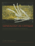 Genealogy as Critique