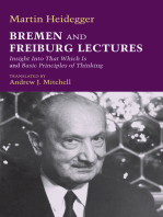 Bremen and Freiburg Lectures