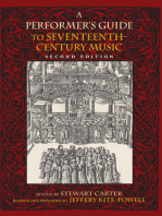 A Performer's Guide to Seventeenth-Century Music, Second Edition
