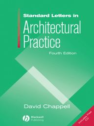 Standard Letters in Architectural Practice