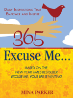 365 Excuse Me . . .
