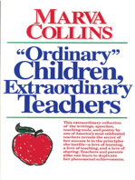Ordinary Children, Extraordinary Teachers