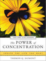 The Power of Concentration, The First Five Lessons