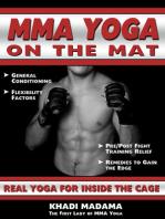 MMA Yoga On The Mat