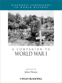 A Companion to World War I