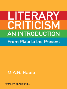 Literary Criticism from Plato to the Present: An Introduction