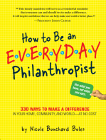 How to Be an Everyday Philanthropist